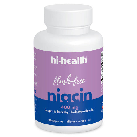 Ultra Plan Flush-Free Niacin 400mg (100 caps)
