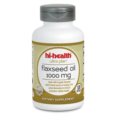 Ultra Plan Flaxseed Oil 1000mg (120 softgels)