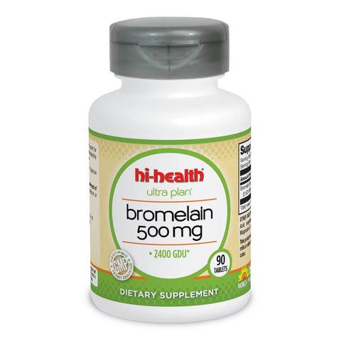 Ultra Plan Bromelain 500mg (90 tabs)