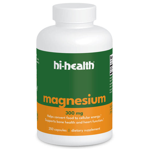 Ultra Plan Magnesium 300mg (250 capsules)