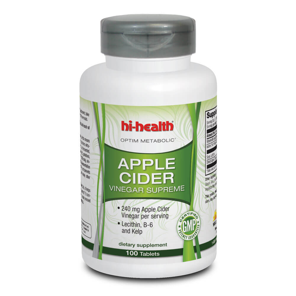 Optim Metabolic Apple Cider Vinegar Supreme (100 tabs)