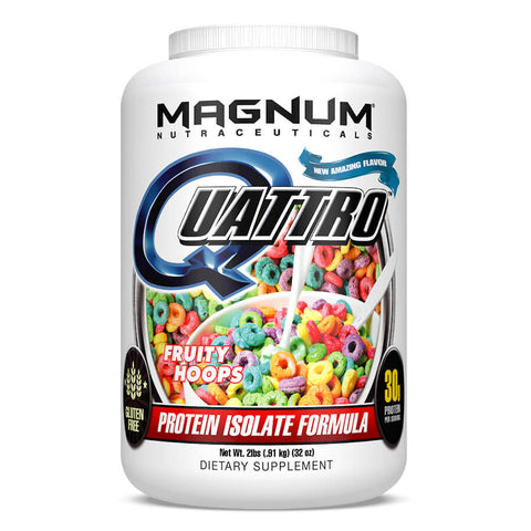 Magnum Quattro Protein - Fruity Hoops (2 lbs)