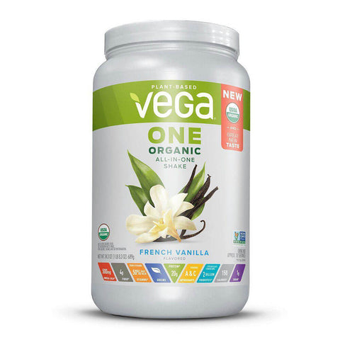 Vega One Organic All-in-One Shake - French Vanilla (24.3 oz)