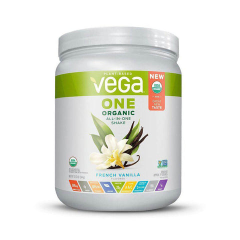 Vega One Organic All-in-One Shake - French Vanilla (12.2 oz)