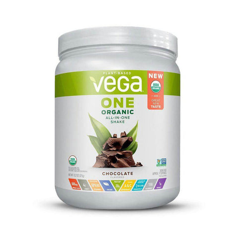 Vega One Organic All-in-One Shake - Chocolate (13.2 oz)