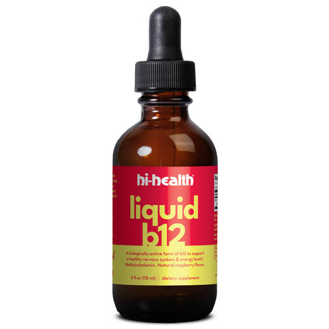 Ultra Plan Liquid B-12 - Raspberry (4 fl oz)
