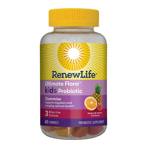 Renew Life Ultimate Flora Kids Probiotic Gummies 3 Billion (60 capsules)
