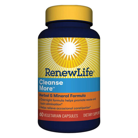 Renew Life Cleanse More (60 caps)