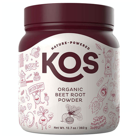 KOS Organic Beet Root Powder (12.7 oz)