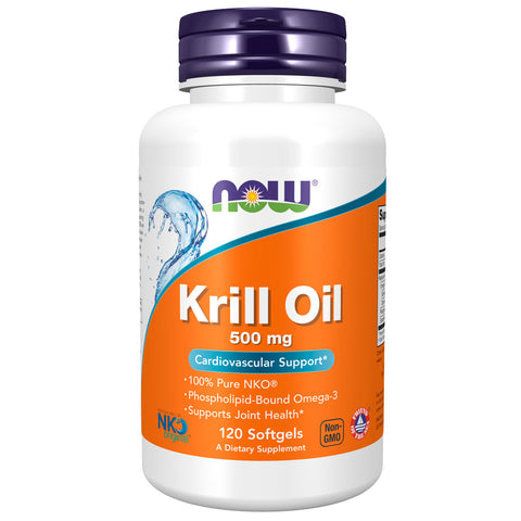 NOW Neptune Krill Oil 500mg (120 softgels)