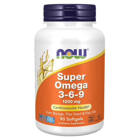 NOW Super Omega 3-6-9 1200mg (90 softgels)
