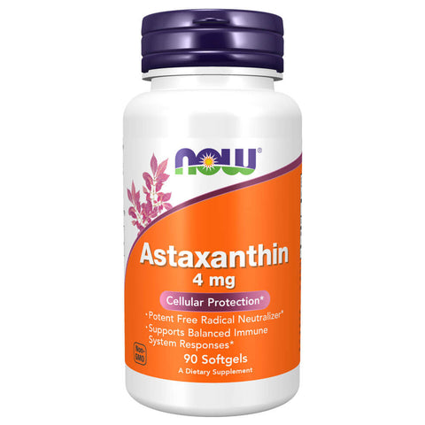 NOW Astaxanthin 4mg (90 softgels)