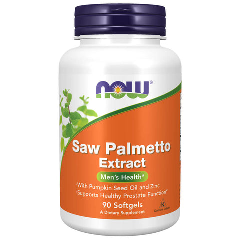 NOW Saw Palmetto Extract (90 softgels)