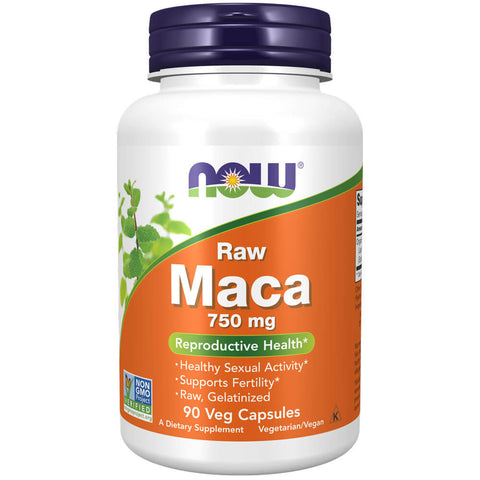 NOW Maca 750mg (90 veg capsules)