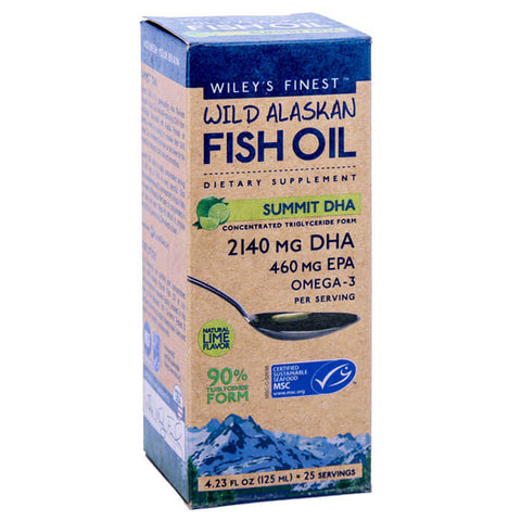 Wiley's Finest Wild Alaskan Fish Oil Summit DHA (4.23 fl oz)