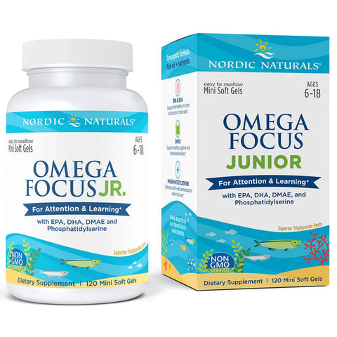 Nordic Naturals Omega Focus Junior (120 softgels)
