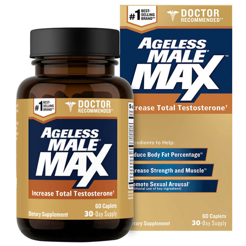 New Vitality Ageless Male Max (60 caplets)