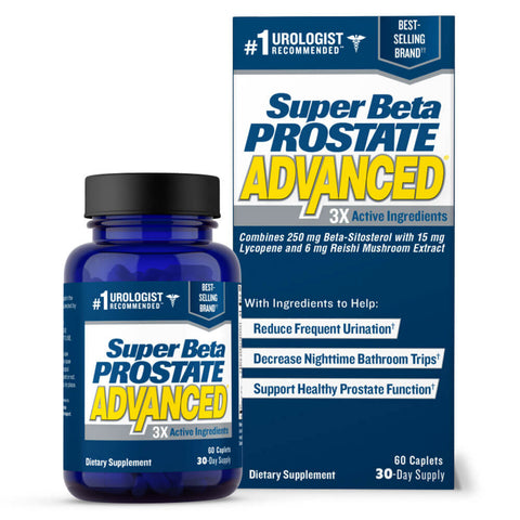 New Vitality Super Beta Prostate P3 Advanced (60 caplets)