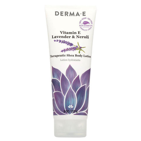 Derma E Vitamin E Lavender-Neroli Therapeutic Shea Body Lotion (8 oz)