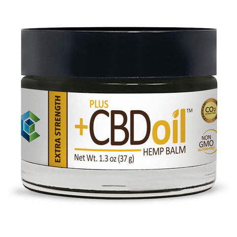 PlusCBD Oil Hemp Balm - Extra Strength (1 oz)