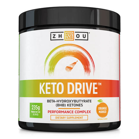 Zhou Nutrition Keto Drive (8.29 oz) - Orange Mango