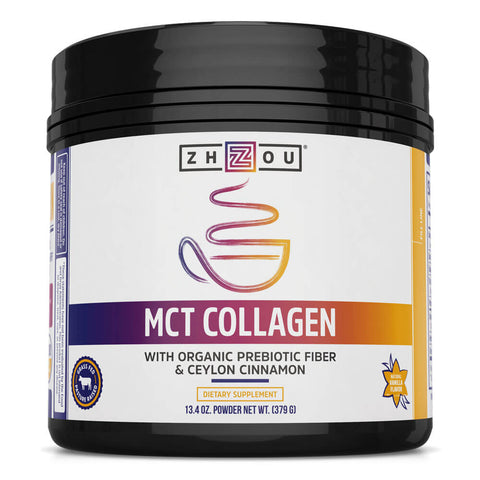 Zhou Nutrition MCT Collagen (13.4 oz)