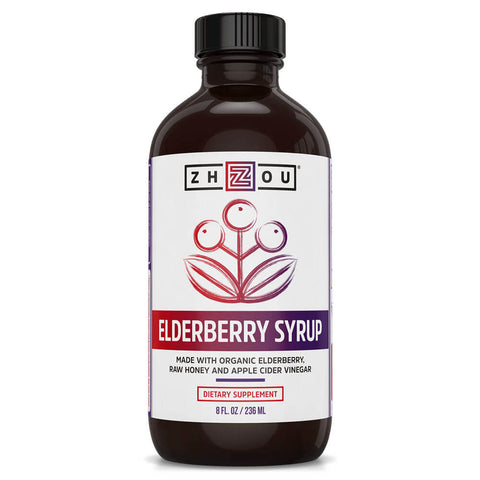 Zhou Nutrition Elderberry Syrup (8 fl oz)