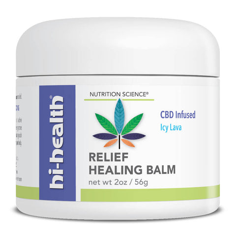 Nutrition Science Relief Healing Balm, CBD Infused (2 oz)