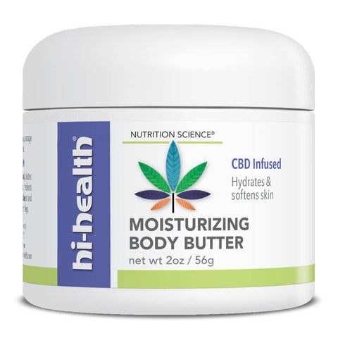 Nutrition Science Moisturizing Body Butter, CBD Infused (2 oz)