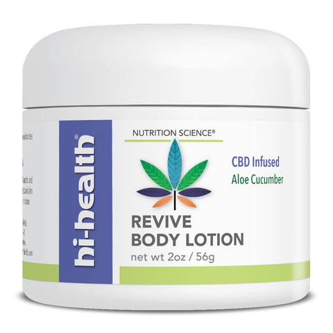 Nutrition Science Revive Body Lotion, CBD Infused (2 oz)