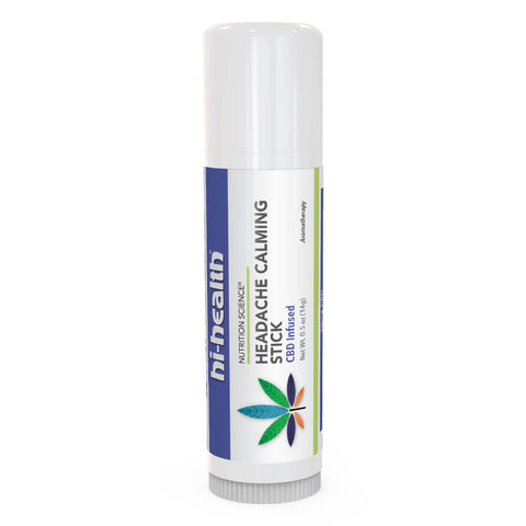 Nutrition Science Headache Calming Stick, CBD Infused (0.5 oz)