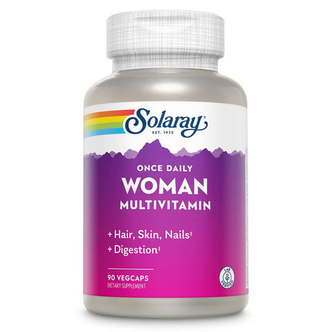 Solaray Once Daily Woman Multivitamin (90 veg capsules)