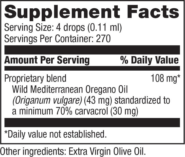 Tibet Mountain Botanicals Oil of Oregano Blend (1 fl oz)
