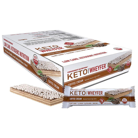 Convenient Nutrition Keto Wheyfer Protein Bar (box of 10 bars)