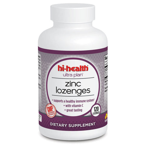 Ultra Plan Zinc Lozenges (120 wafers)