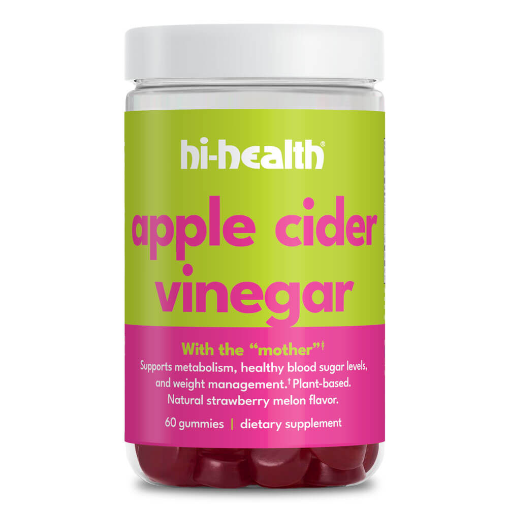 Hi-Health Apple Cider Vinegar Gummies (60 gummies)