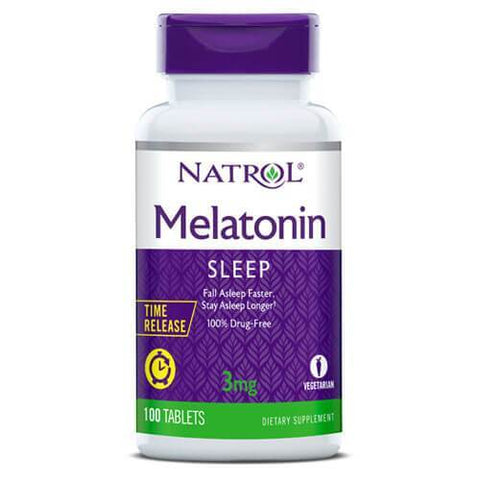 Natrol Melatonin Time Release 3mg (100 tablets)