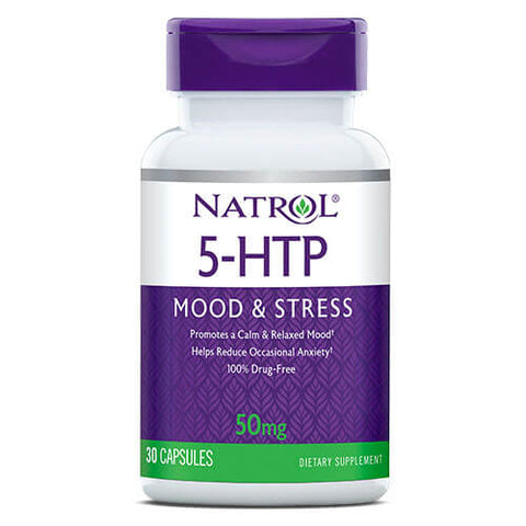 Natrol 5-HTP 50mg (30 caps)
