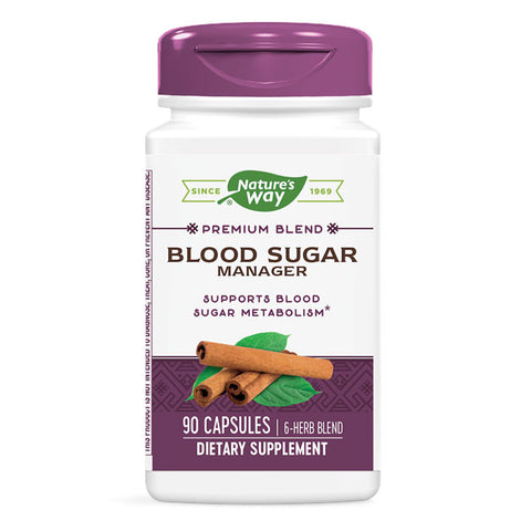 Nature's Way Blood Sugar Manager (90 capsules)