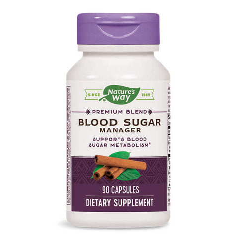 Nature's Way Blood Sugar Manager (90 caps)