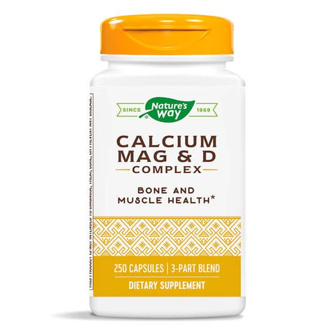 Nature's Way Calcium Mag & D Complex (250 capsules)