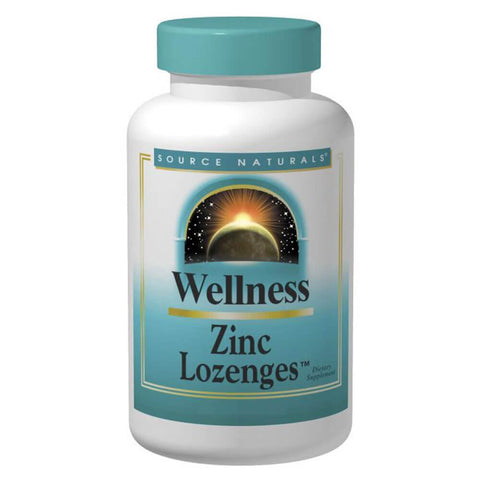 Source Naturals Wellness Zinc Lozenges (60 lozenges)