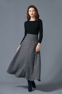 big hem skirt