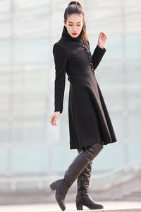 worm wool coat