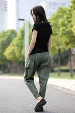 Load image into Gallery viewer, women green pants