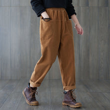 Load image into Gallery viewer, Corduroy baggy pants C1818
