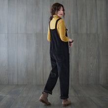 Load image into Gallery viewer, Vintage inspired Women Corduroy jumpsuit C1819