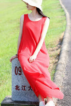 Load image into Gallery viewer, rose red dress