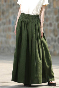 Casual Long Maxi skirt C328#