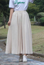 Load image into Gallery viewer, Plain commuter natural waist skirt CYM034-190066
